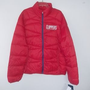 Los Angeles Clippers lightweight jacket w/bag